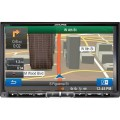 8 inch In-Dash Double-DIN AV Navigation System with bluetooth - ALPINE X008U