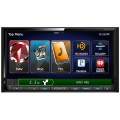 Double-Din HD Navigation Receiver with Built-in Bluetooth, HDMI and USB inputs - Pandora + iHeartRadio App Controls - KENWOOD DNX771HD