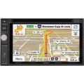DOUBLE DIN Multimedia Receiver with Built-In Navigation and Bluetooth, DVD, AUX and USB - JENSEN VX7020