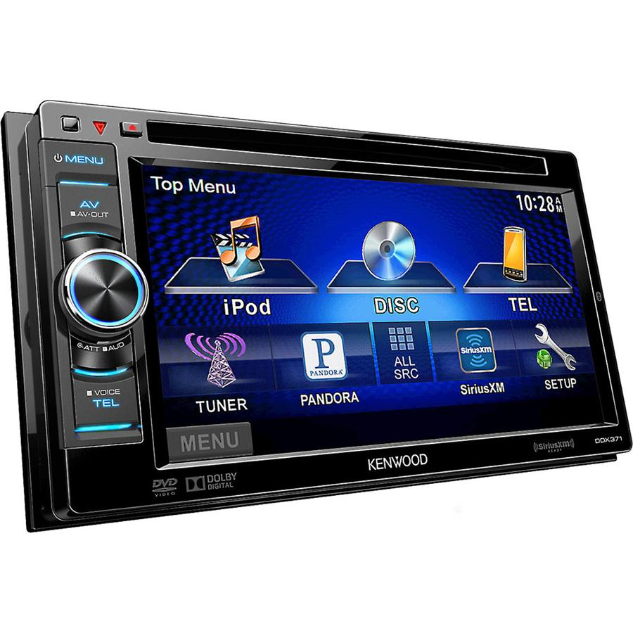 Kenwood DDX3Double Din monitor with DVD receiver - m